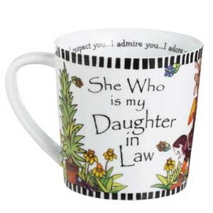 Who Is She My Daughter in Law Mugs