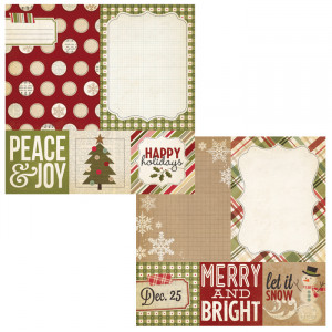 Simple Stories - Handmade Holiday Collection - Christmas - 12 x 12 ...
