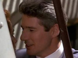 Richard Gere as Edward Lewis: up the tower and rescued her