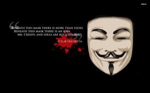 For Vendetta Quote - V For Vendetta Quote