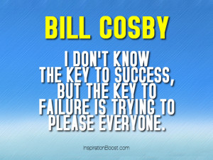 Bill Cosby Successful Quotes