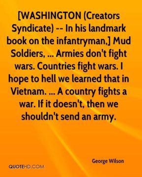George Wilson - [WASHINGTON (Creators Syndicate) -- In his landmark ...