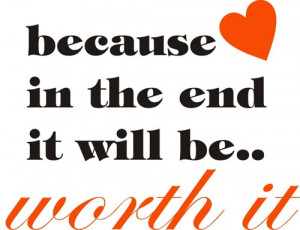 Because in the end Quote Wall Decal Sticker Tattoo Love Life Home ...