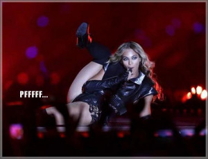 Top 10 Funny Beyonce Super Bowl Pictures