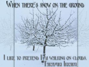 Snow Quotes And Sayings Winter quotes - when there's