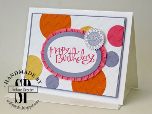 : Diva Night - Stampin' Up! Sassy Salutations and Starburst Sayings ...