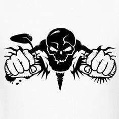 Skull Motorcycle T-Shirts