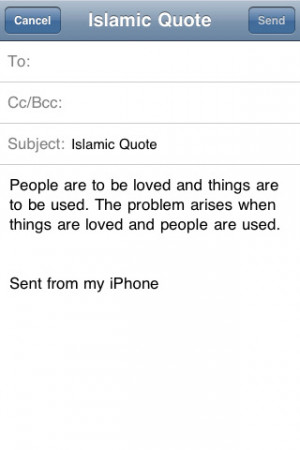 Good Islamic Quotes iPhone App & Review