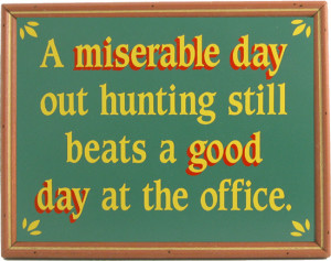 Funny Hunting Signs