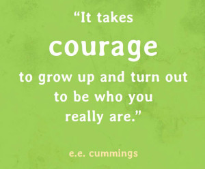 ... Monday: Unraveling with Help From COURAGE, COMPASSION and CONNECTION