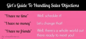 Direct Seller's Guide To Handling Objections
