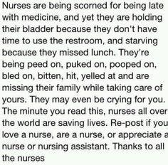 Funny Cna Quotes Appreciate a nurse or nursing