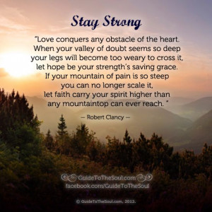 Inspirational Stay Strong Quotes