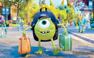 New Images of Mike & Sully Heading to College in 'Monsters University'