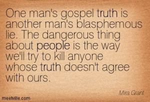 Lies and Deceit Quotes