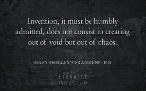 Mary Shelley Frankenstein Quotes