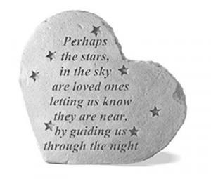 Funeral Memorial Heart -