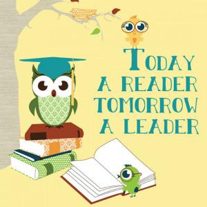 Kids' Room Prints That Encourage Reading
