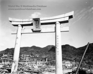 Torii of Sanno Shrine, Nagasaki