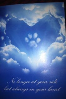 ... friend received this after the loss of her dog. #quotes #dogs #animals