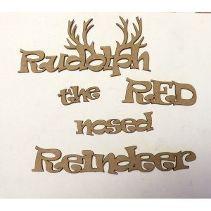 Rudolph the Red Nosed Reindeer (Titles Quotes Sayings Christmas ...
