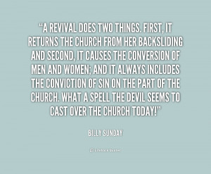 Church Revival Quotes