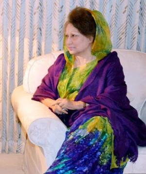 Khaleda Zia urges for re election