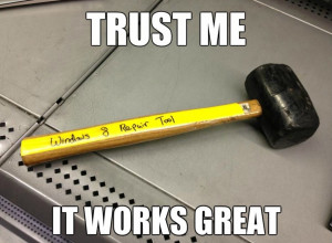 Funny Windows 8 Repair Tool 2014