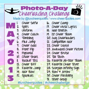 30 day cheer challenge?? I think YES