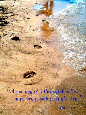 took this pic of my sisters footprints a few summers back while at ...