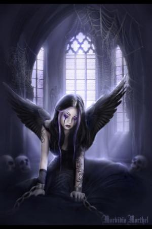Gothic Angel... by MorbidiaMorthel