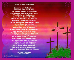 Jesus Is My Valentine Poster And Valentine Postersrs