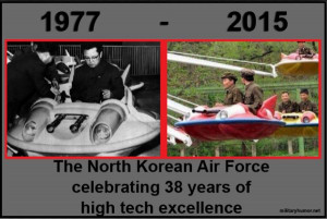 North Korean Air Force Celebration