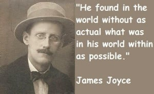 James joyce quotes 3