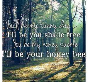 Blake Shelton- Honey Bee. Country songs. Country quotes