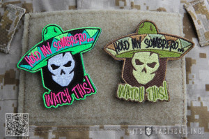 Hold My Sombrero… Watch This! New Morale Patches, RED T-Shirts and ...