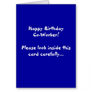 Happy Birthday Co Worker Quotes http://kootation.com/happy-birthday ...