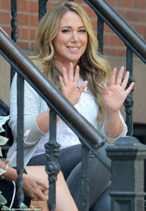 They're doing great': Haylie Duff - seen here on Tuesday in Brooklyn ...