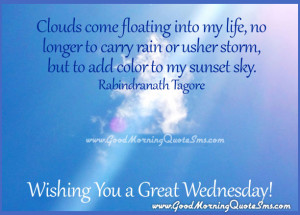 Wednesday Good Morning Wishes - Happy Wednesday Pictures, Quotes, SMS ...