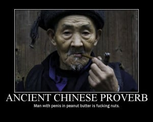 Old Chinese Proverbs Funny