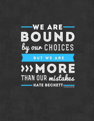 CASTLE | Favourite Quotes { Purchase here & here }