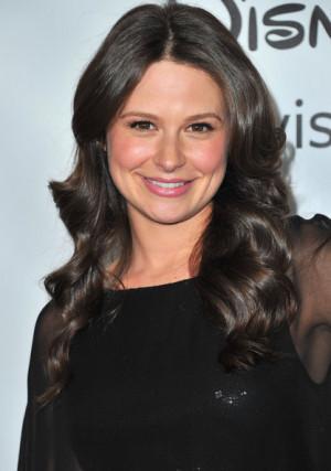 Katie Lowes Actress Arrives...