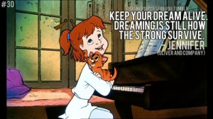 Jennifer (Oliver and Company) quote