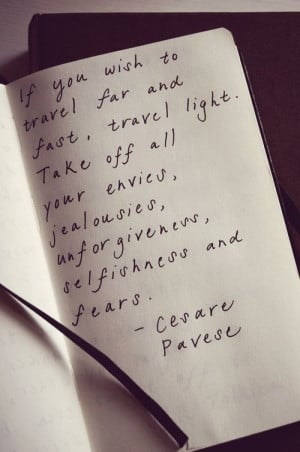 Wise words from Cesare Pavese
