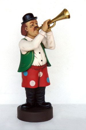 Funny band Trumpet player