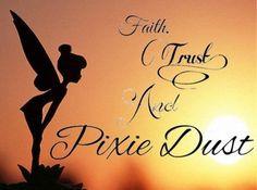 ... dust quote via www.Facebook.com/DisneylandForMisfits tinkerbell quotes