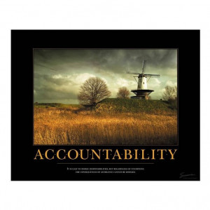 quotes about accountability | Accountability Windmill - Motivational ...