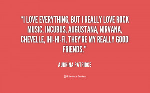 quote Audrina Patridge i love everything but i really love 137219 png