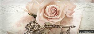 Vintage Rose Profile Facebook Covers