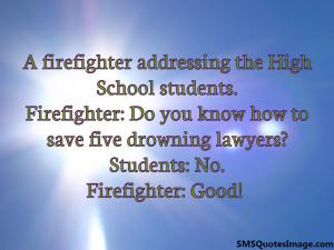 firefighter addressing the...
